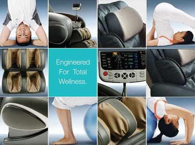 Osaki OS-4000T Executive Zero Gravity Foot Roller Massage Chair