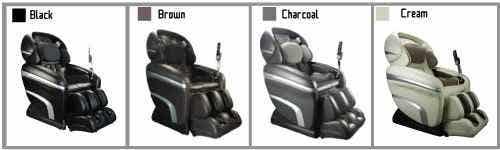 Osaki OS-7200CR Massage Chair Color Choices