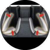 Osaki-JP Premium 4.0 Massage Chair Leg Airbag