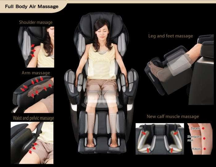 Osaki 4S Full Air Massage Chair