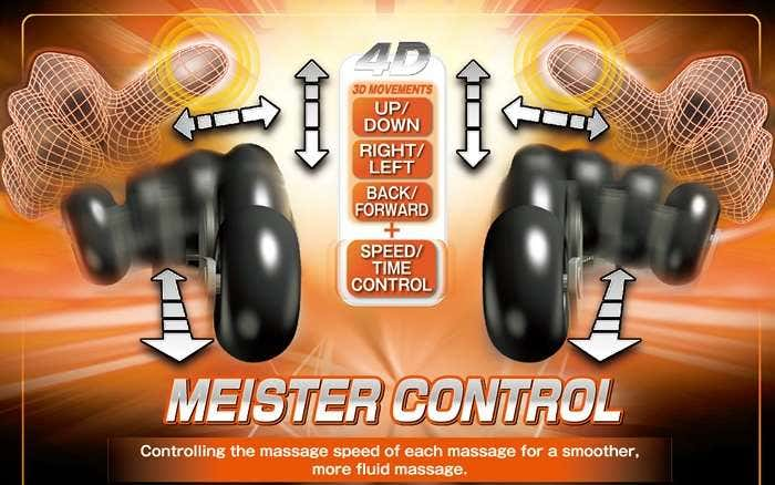 Osaki Massage Chair Meister Control