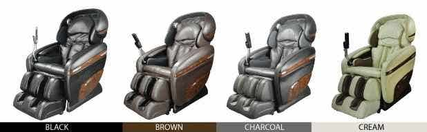 Osaki OS-3D Pro Dreamer Massage Chair Colors