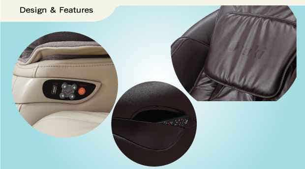 Titan TP-8500 Massage Chair Design Features