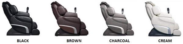 Titan T1-7700 Massage Chair Colors