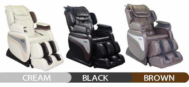 Titan Massage Chair Colors