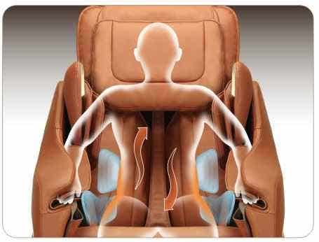Titan Massage Chair Back Twist