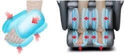 Titan Calf Foot Massage Chair