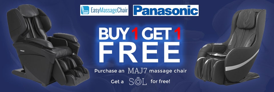 Panasonic MAJ7 Buy 1 take 1 massage chair promo