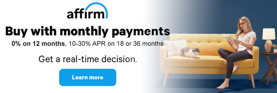 Easy Massage Chair Financing - Affirm