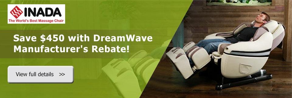 Inada DreamWave Manufacturer's Rebate