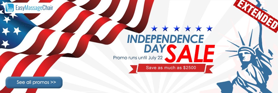 Massage Chair 4th of July Sale
