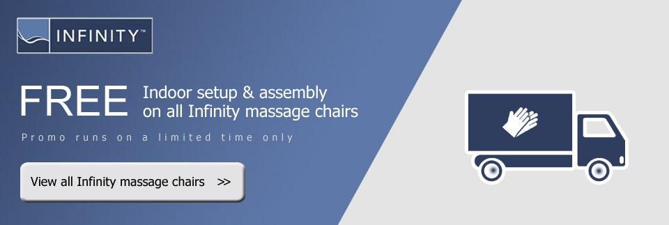 Infinity Massage Chairs Free Setup & Assembly