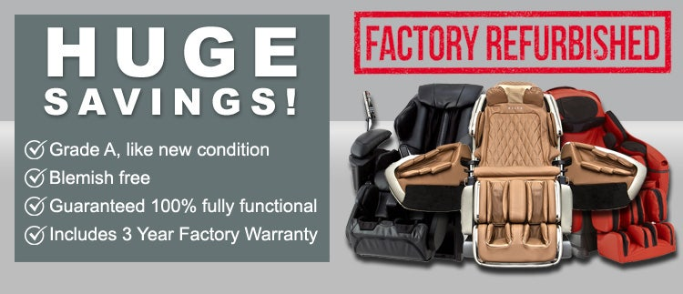 Factory Certified Refurbished Massage Chairs On Sale