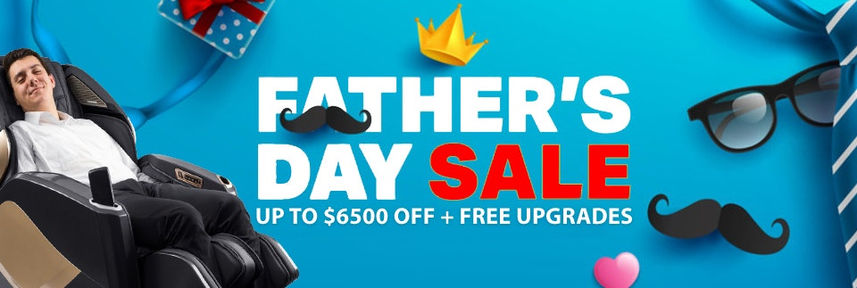 Father's Day Massage chair promos