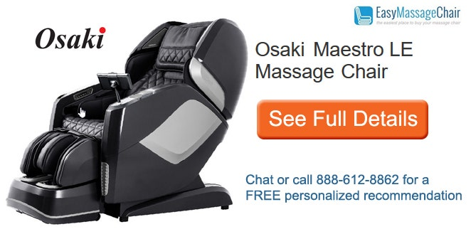 Buy Osaki OS-4D Maestro LE SL-Track Massage Chair