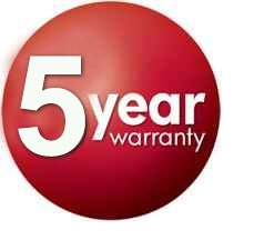 Infinity 5 Years Manufacturer Warranty